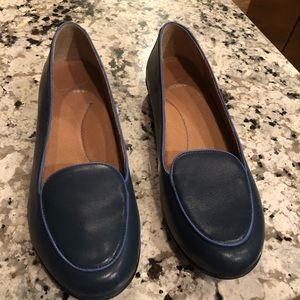 Dansko blue leather loafers Nastacia is 10 / 40